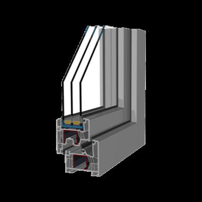 PVC okna Optimo 76