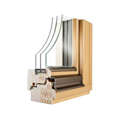Lesena okna NATURA E92