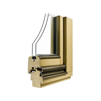 Lesena okna NATURA
