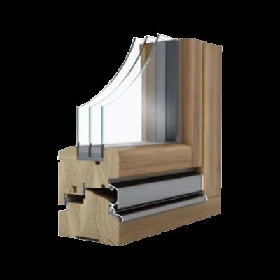 Lesena okna NATURA OPTIMO XLT