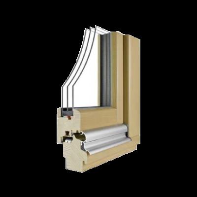 Lesena okna NATURA 3