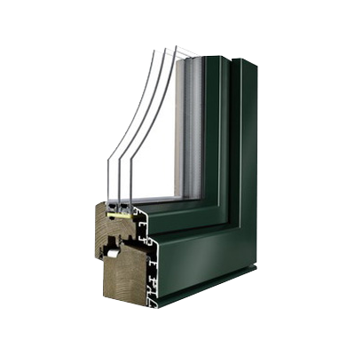 Alu-les okna UDOBJE 3